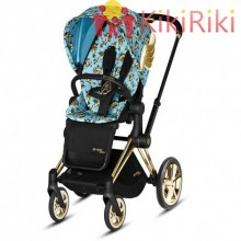 Бебешка количка Cybex Priam Jeremy Scott Cherubs Blue Trekking