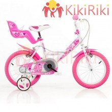 Детски велосипед Dino Bikes Little Heart 14″