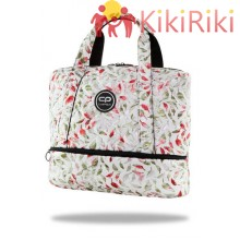 Чанта за рамо CoolPack Luna Feathers White